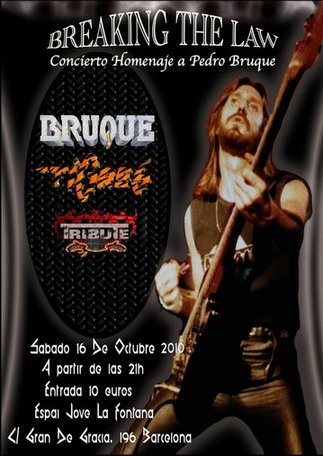 Tigres / Bruque - Breaking the Law - Homenaje a Pedro Bruque