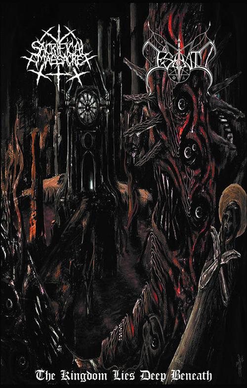 Esbbat / Sacrificial Massacre - The Kingdom Lies Deep Beneath