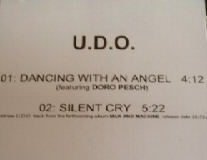 U.D.O. - Dancing with an Angel