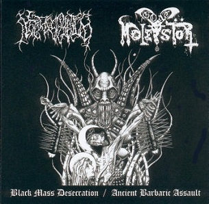 Goat Molestör / Necros Christos - Black Mass Desecration / Ancient Barbaric Assault