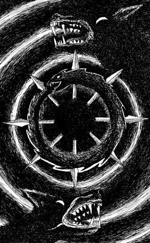 Nocturnal Werewolf / Templum Umbrae - Caverns of Devilish Wraiths