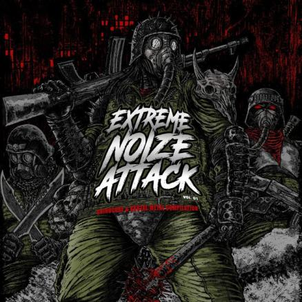 Disharmonic Orchestra / Impiety / Master / Morbosidad / Hate Legions / Voracious Scourge - Extreme Noize Attack Vol. 01