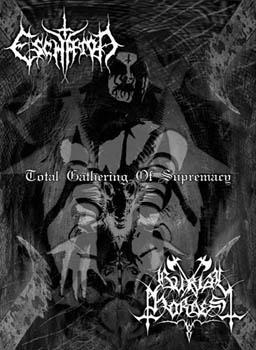 Burial Hordes / Eschaton - Total Gathering of Supremacy