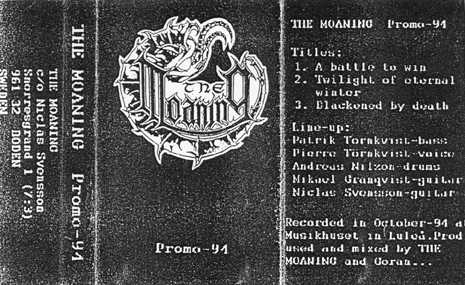 The Moaning - Promo-94