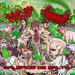 Animals Killing People / Gorepot - Maleficis de Saltu (Sorcery of the Jungle)