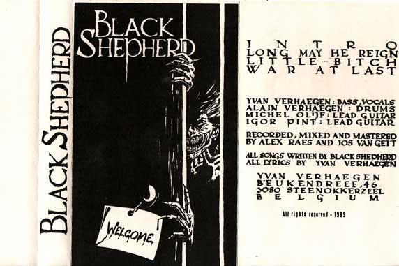 Black Shepherd - Welcome