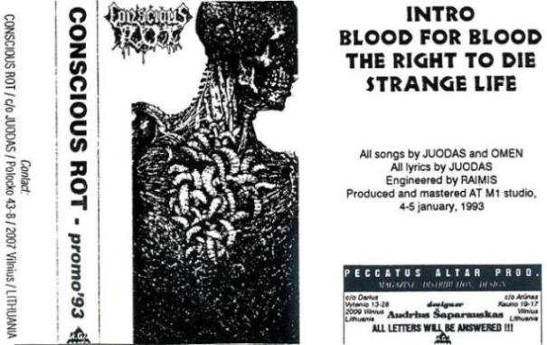 Conscious Rot - Blood for Blood