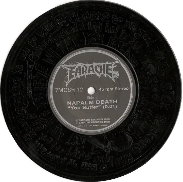 Napalm Death - Napalm Death / Electro Hippies