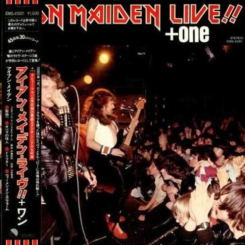 Iron Maiden - Live!! + One