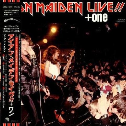 Iron Maiden - Live!! + One