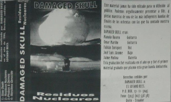 Damaged Skull - Residuos nucleares
