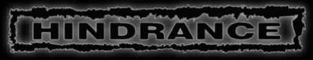 Hindrance - Logo