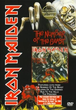 Classic Albums: The Number of the Beast cover (Click to see larger picture)