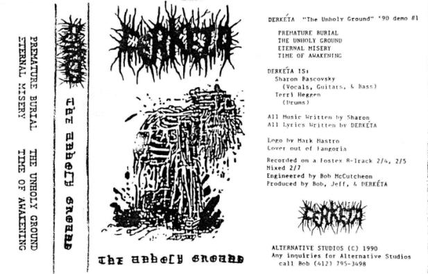 Derkéta - The Unholy Ground