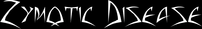Zymotic Disease - Logo