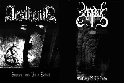 Somrak / Aesthenia - Gathering at the Ruins / Invocations unto Belial