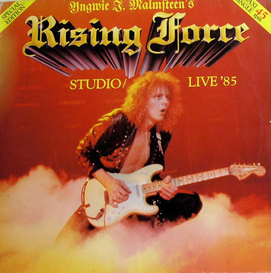 Yngwie J. Malmsteen - Rising Force Studio / Live '85