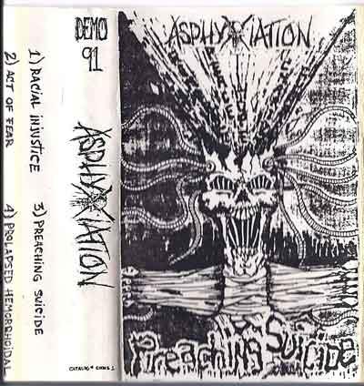 Asphyxiation - Preaching Suicide