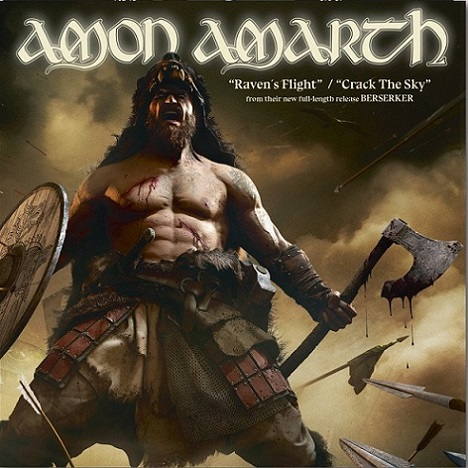 Amon Amarth - Raven's Flight / Crack the Sky