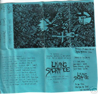 Living Sacrifice - Not Yielding to Ungodly