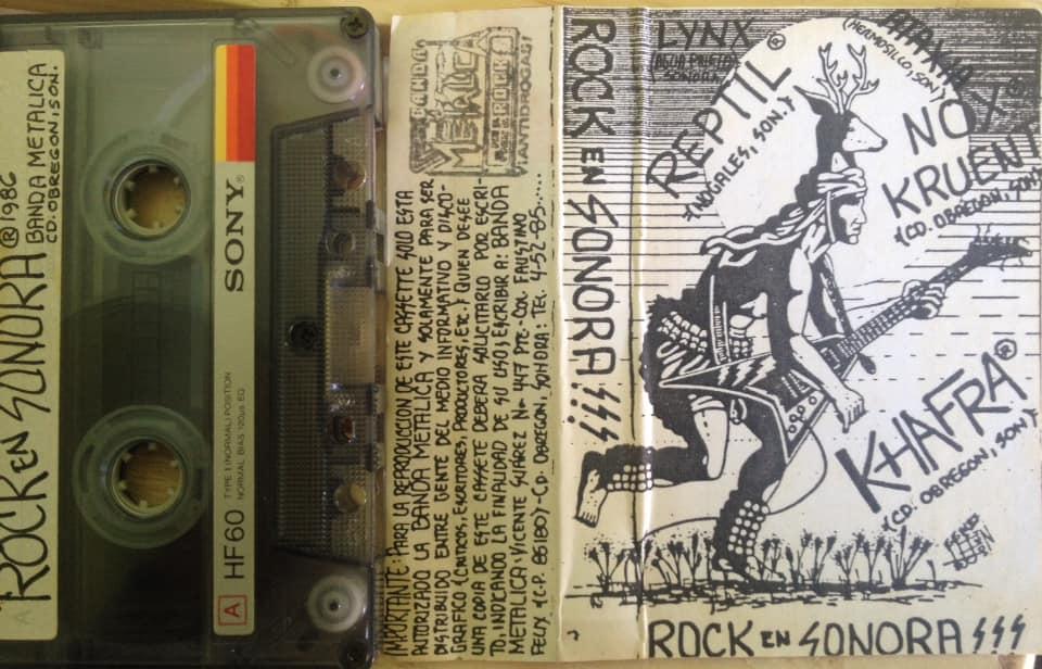 Khafra / Reptil / Nox Kruent - Rock en Sonora!!!