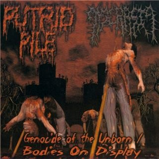 Dyscrasia / Putrid Pile - Genocide of the Unborn / Bodies on Display