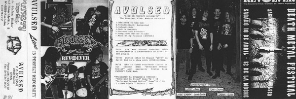 Avulsed - Live in Perfect Deformity