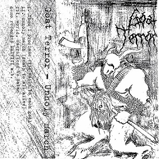 Goat Terror - Unholy March