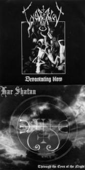 Har Shatan / Wolfsschrei - Devastating Blow / Through the Eyes of the Night