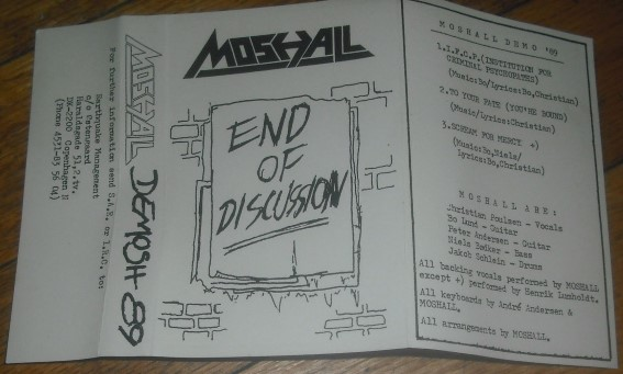 Moshall - End of Discussion