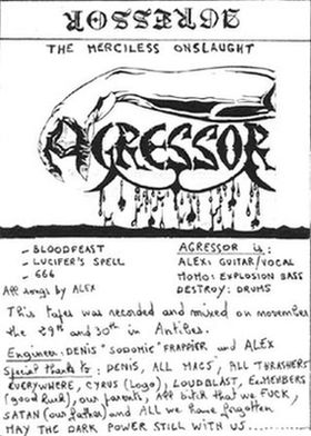 Agressor - The Merciless Onslaught