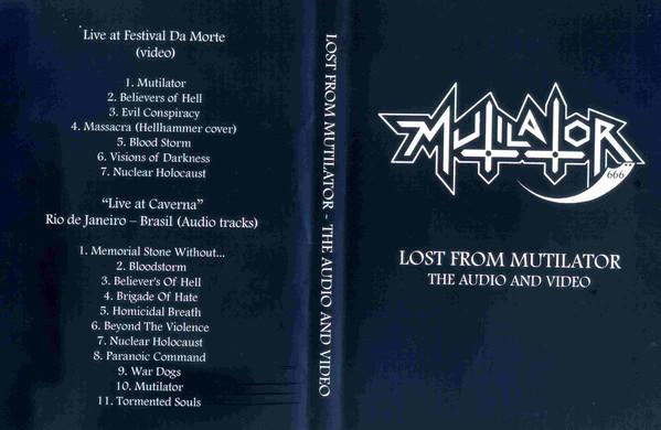 Mutilator - Lost from Mutilator - The Audio and Video