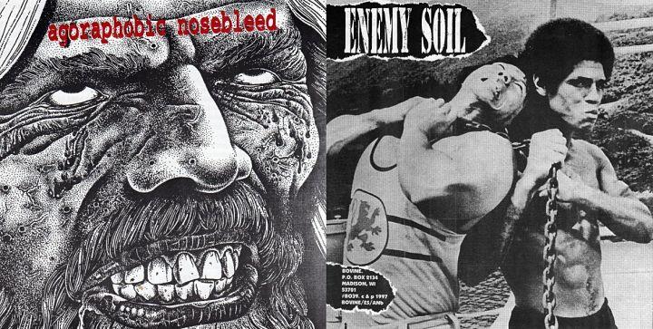 Agoraphobic Nosebleed - Enemy Soil / Agoraphobic Nosebleed