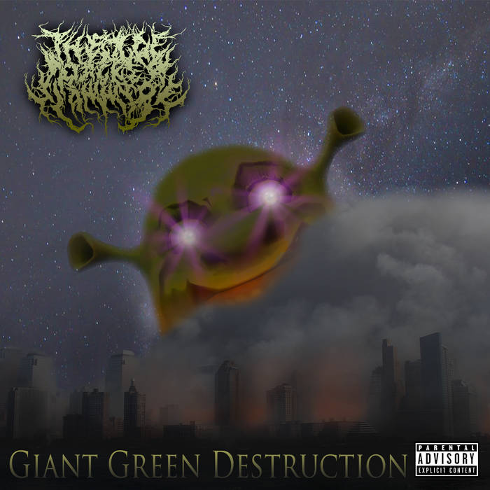 The Ogre Packet Slammers - Giant Green Destruction