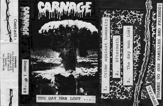 Carnage - The Day Man Lost…
