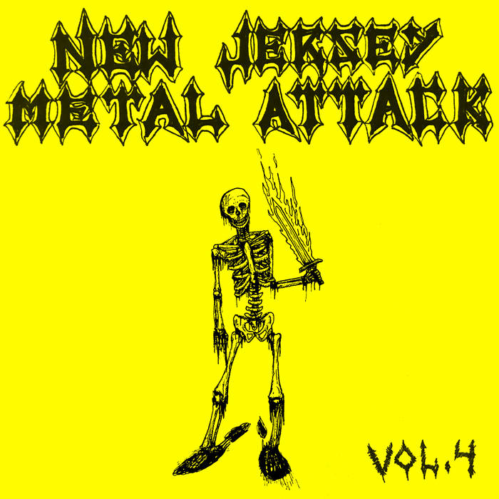 Blood Magic / Siege Column / Jaws of Hades / Altar of Gore / Blasphematory - New Jersey Metal Attack Vol. 4
