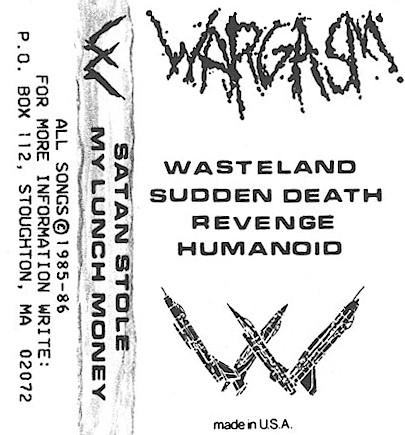 Wargasm - Satan Stole My Lunch Money
