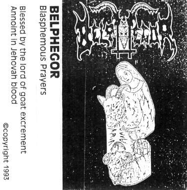 Belphegor - Blasphemous Prayers