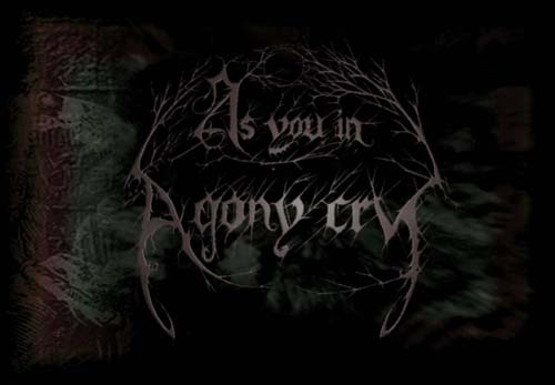 As You in Agony Cry - Logo