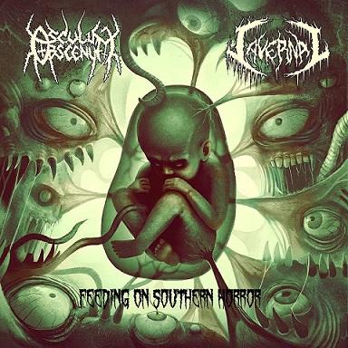 Osculum Obscenum / Cavernal - Feeding On Southern Horror