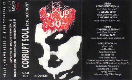 Corrupt Soul - Psychophony
