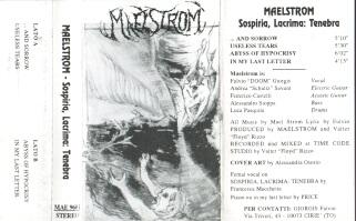 Maelstrom - Sospiria, Lacrima: Tenebra