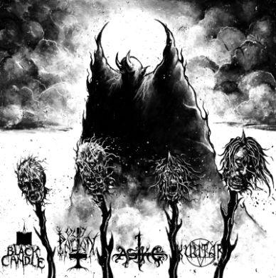 Black Candle / Old Pagan / Aske / Kuutar - Four Ways of Blasphemy (A Finnish - Saarlandian Alliance)