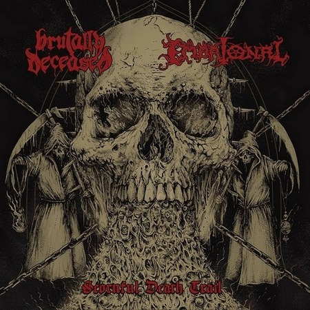 Embrional / Brutally Deceased - Scornful Death Trail