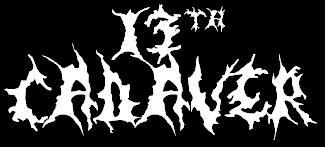 13th Cadaver - Logo