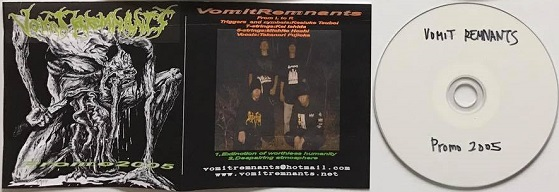 Vomit Remnants - Promo 2005