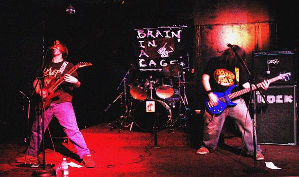 Brain in a Cage - Photo
