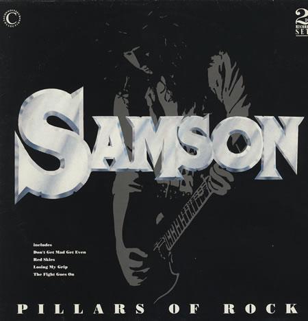 Samson - Pillars of Rock