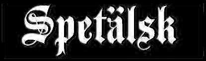 Spetälsk - Logo