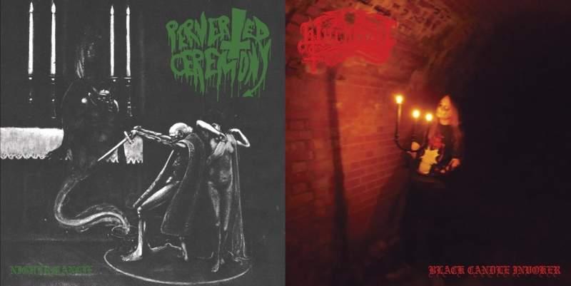 Witchcraft / Perverted Ceremony - Nighermancie / Black Candle Invoker